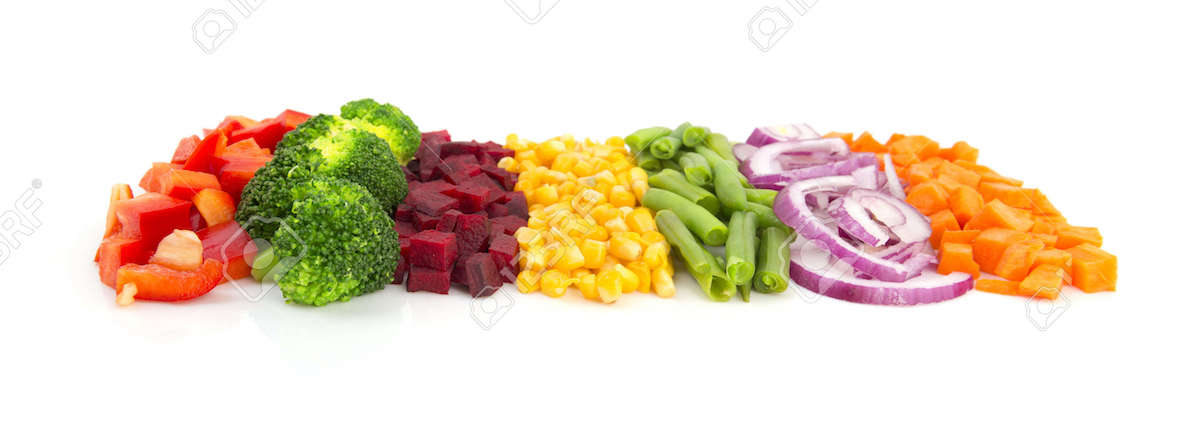 37558894-Colorful-cut-vegetables-in-a-line-with-perspective-isolated-on-white-background-Stock-Photo
